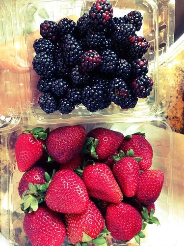 Berries from Oak Hills Farm