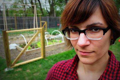 20130504. Garden face.