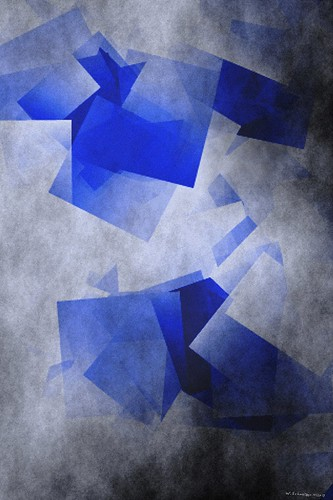 blue squares by Wolfgang Schweizer