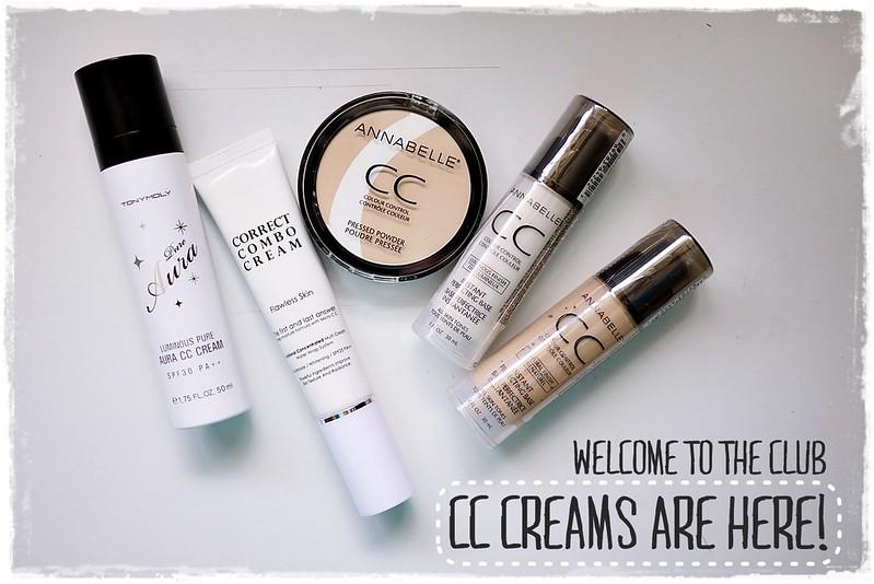 My first cc creams