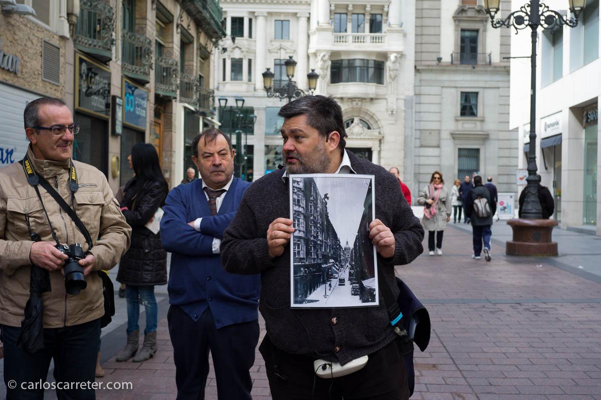Recordando los grandes almacenes El Águila en la calle Alfonso I