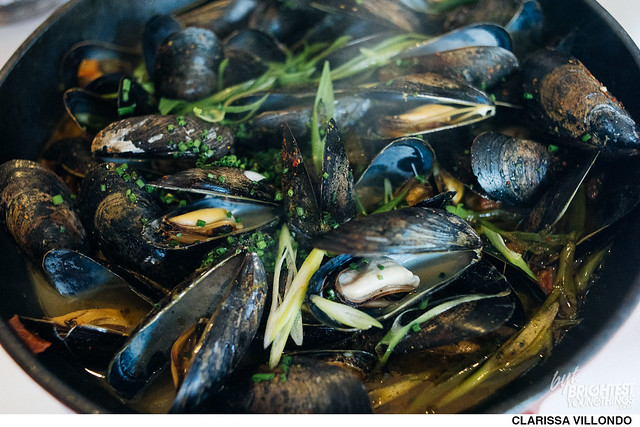 Brunch Mussels at Brabo