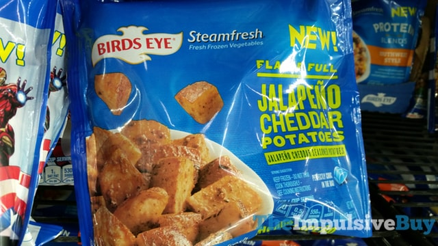 Birds Eye Steamfresh Flavor Full Jalapeno Cheddar Potatoes