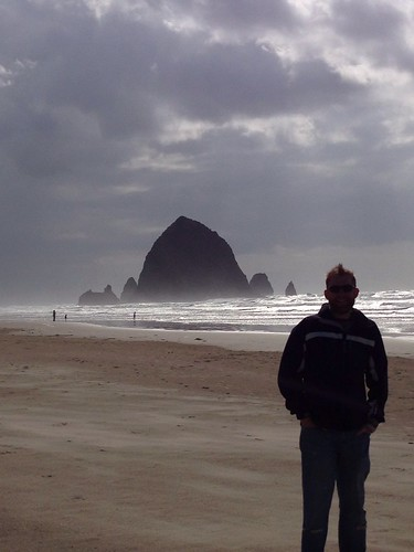Nick at Haystack Rock