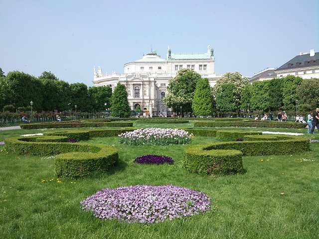 Spring in Volksgarten, Vienna