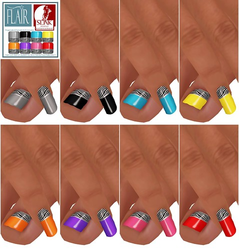 Flair - Nails Set 46