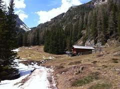 Richtung Jägerhütte