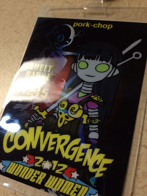Badge for #cvg2012 acquired!