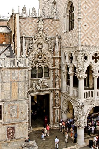 Porta della Carta, Doge's Palace, Venice