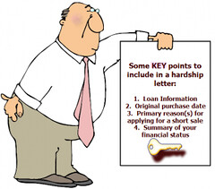 hardship letter property guiding