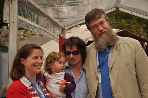 Mrs, Baby and Mr Wigtown and Philip Ardagh
