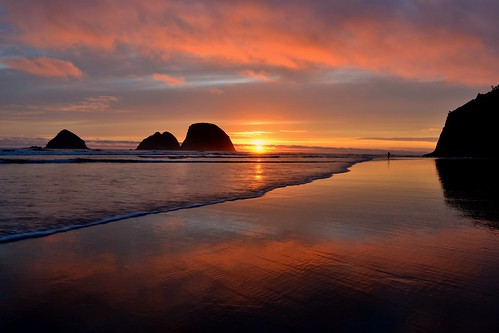 Last Sunset by Jim
