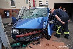 Verkehrsunfall Poststr. Bierstadt 12.07.12