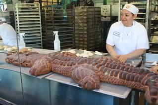 Sour dough alligator - Boudin's bakery, Pier 39