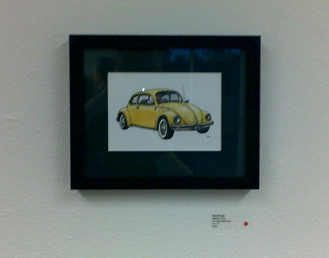 beetle at pence