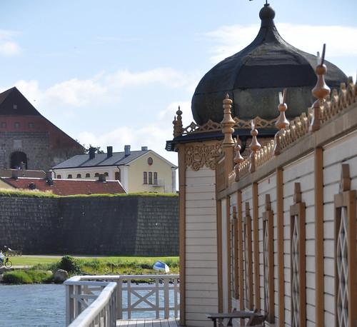 Varbergs fästning and kallbadhus