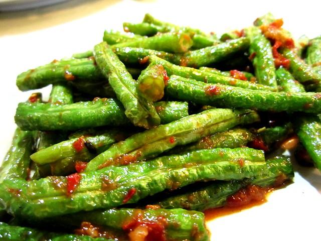 Long bean belacan