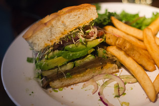 Balsamic Mushroom Burger