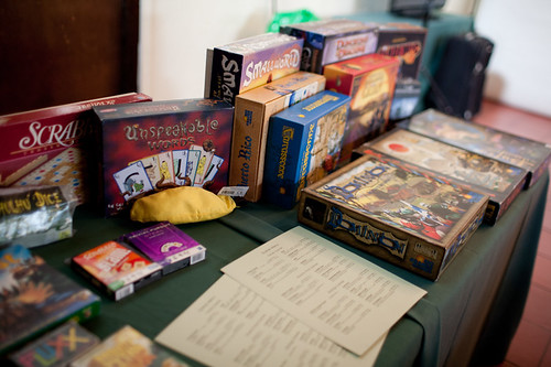 The Board Game Table