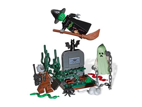 850487 Minfigure Halloween Set