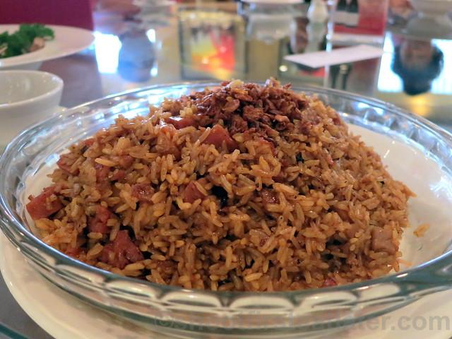 Summer Palace, Edsa Shangri-La- waxed meat fried rice