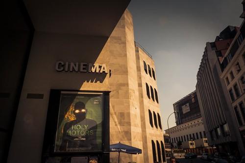 Cinema (Holy Motors) - Sauvenière, Liège - Photo : Gilderic