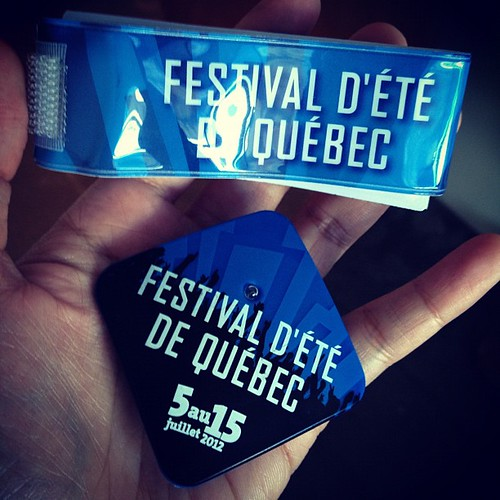 Quebec summer festival pass!