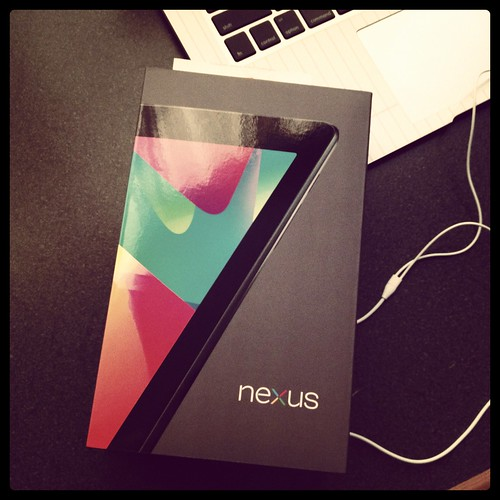 Nexus 7 acquired...