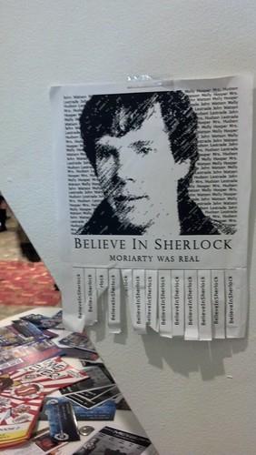 Believe in Sherlock Flyer