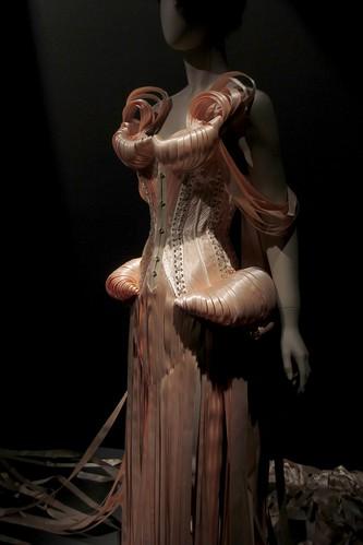 Saut de l'Ange gown, Black Swan collection, haute couture FW 2011-2012.