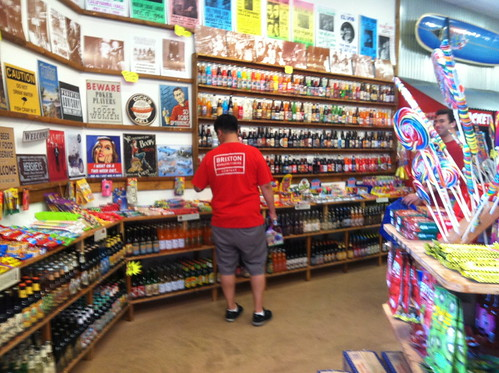 Rocket Fizz interior