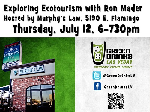 Green Drinks July 2012: Exploring Ecotourism with Ron Mader