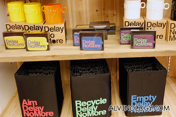 "Controversial ""Delay No More"" Collection - Those who know cantonese will know why these three words are controversial in Hong Kong"