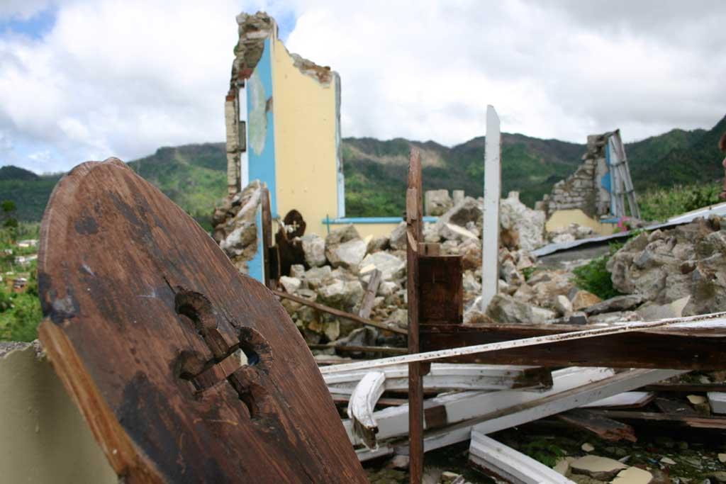 Gren_3142 Destroyed church