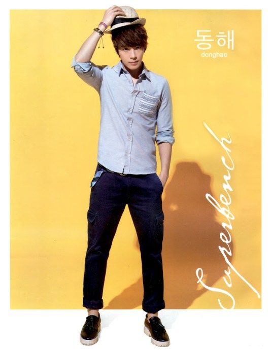 Donghae and Siwon for Bench Spring-Summer 2012-01-1