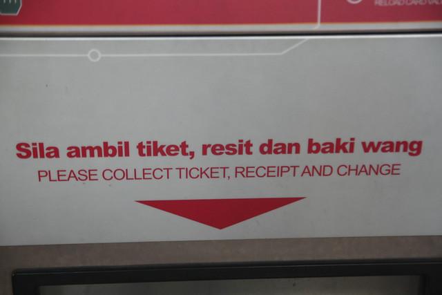 tiket, resit