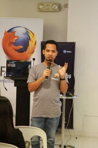 MozillaPH HTML5 & Firefox OS Roadshow with Globe Labs