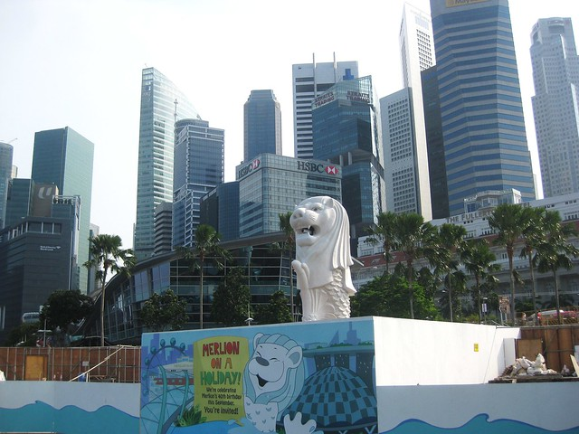 Merlion in the City