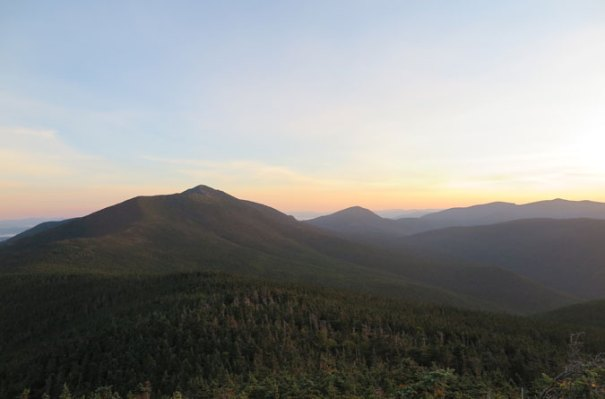 Franconia Ridge Trail Sunrise