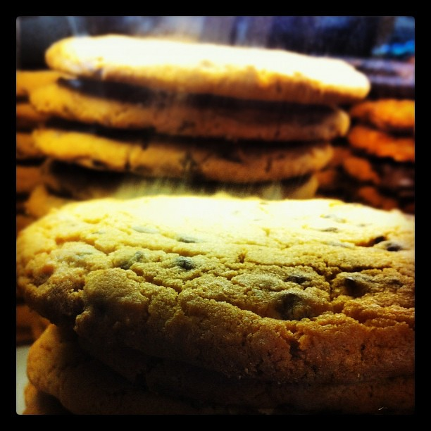 Big Chocolate Cookie Stacks