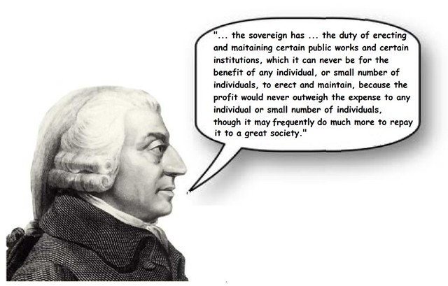Adam Smith: 'You Didn't Build That!'