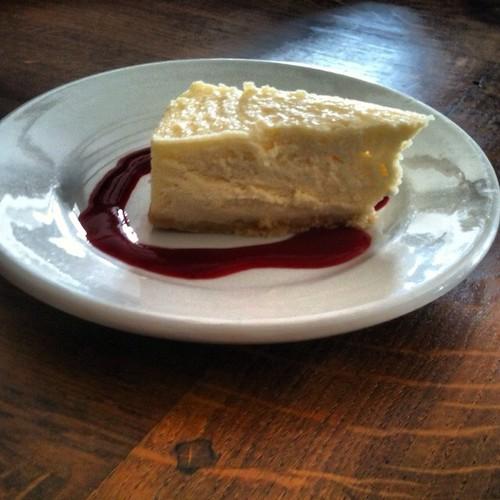 Baptême de cheese-cake