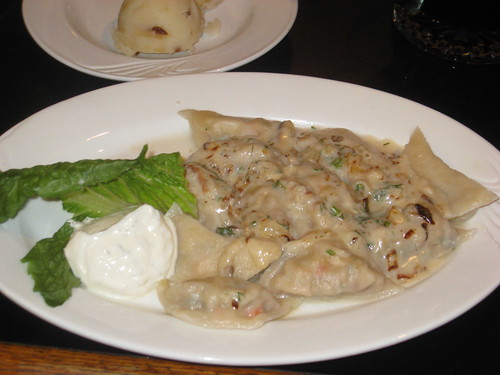 Eastern European Lobster pierogi