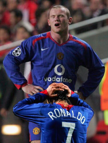 Rooney Ronaldo Blow Job
