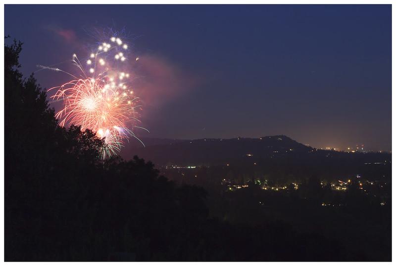 Silverado Fireworks