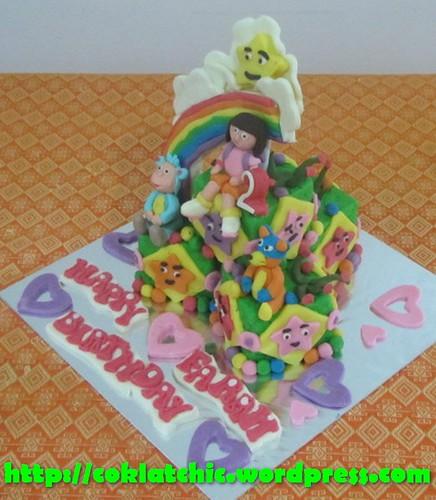 Miniature cake Dora the Explorer