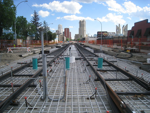 North LRT to NAIT Construction