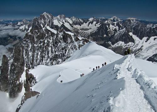 Mont Blanc por la ruta de los cuatromiles (2/6)