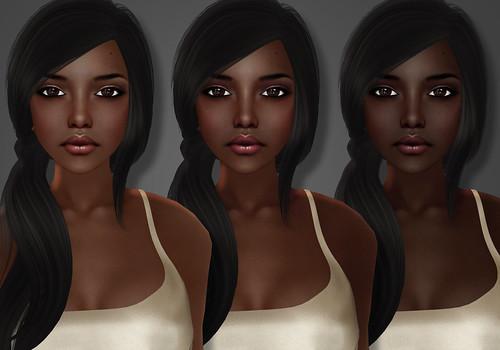 Eliza Skin dark tones