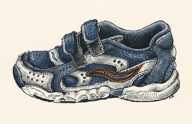 age three shoe